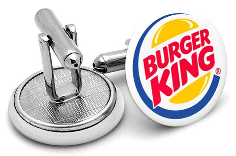 Burger King Logo Cufflinks