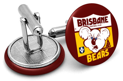 Brisbane Bears 80s Cufflinks