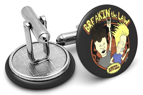 Beavis and Butt-head Law Cufflinks