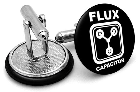 Back Future Flux Capacity Cufflinks