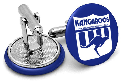 North Melbourne Kangaroos 80s Cufflinks