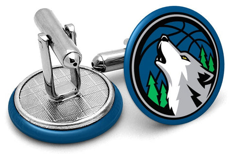 Minnesota Timberwolves Alternate Cufflinks