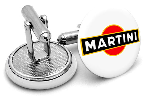 Martini Rossi Cufflinks