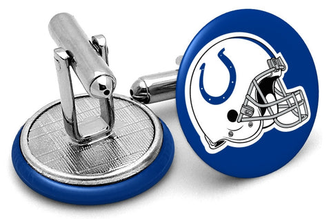 Indianapolis Colts Helmet Cufflinks