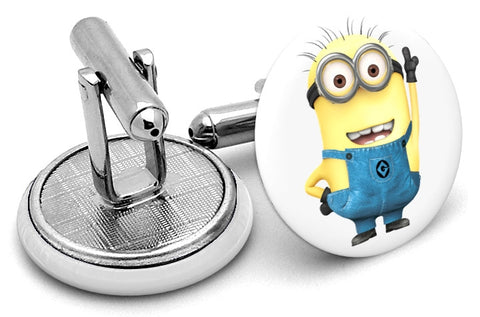 Despicable Me Minion Cufflinks