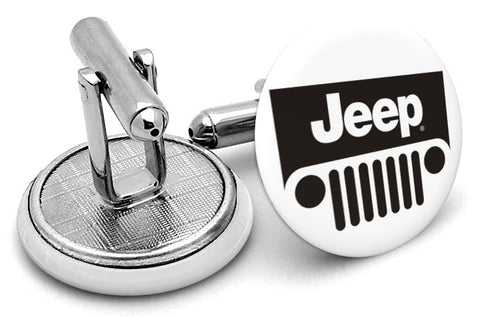 Jeep Logo Cufflinks