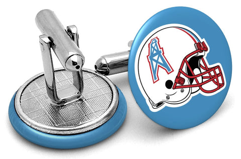 Houston Oilers Helmet Cufflinks