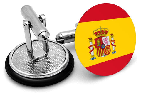 Flag Of Spain Cufflinks