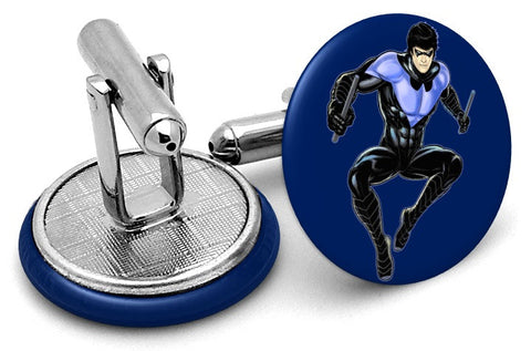 Nightwing Comic Cufflinks