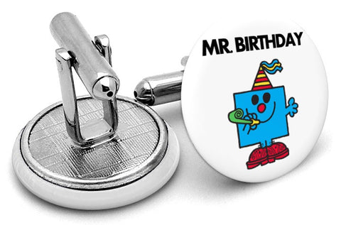 Mr Birthday Cufflinks