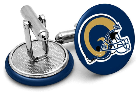 St Louis Rams Helmet Cufflinks