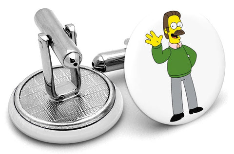 Ned Flanders Simpsons Cufflinks