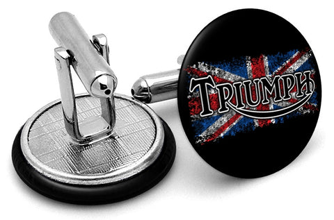Triumph Union Jack Cufflinks