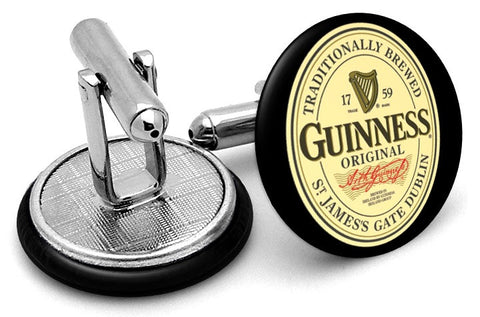 Guinness  Original Logo Cufflinks