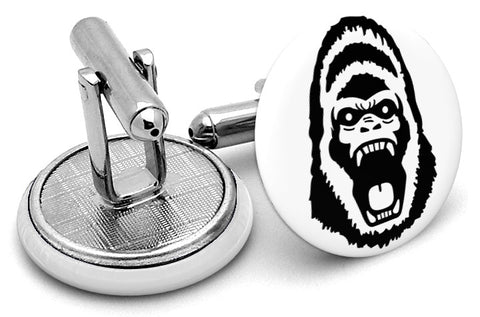 Gorilla Face Cufflinks