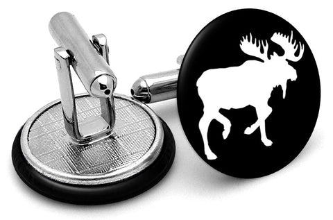 Moose Body Cufflinks