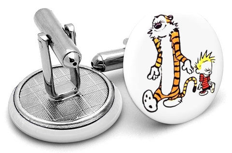 Calvin And Hobbes Alternate Cufflinks