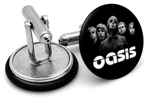 Oasis Alternate Logo Cufflinks