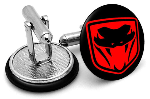 Dodge Viper Old Logo Cufflinks