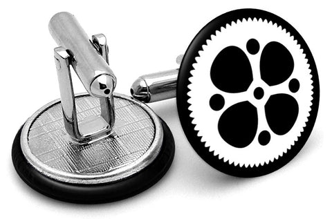 Gear Sprocket Cufflinks