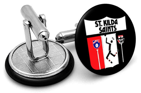 St Kilda Saints 80s Cufflinks