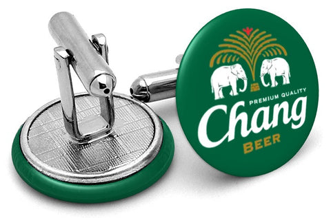 Beer Chang Thailand Cufflinks