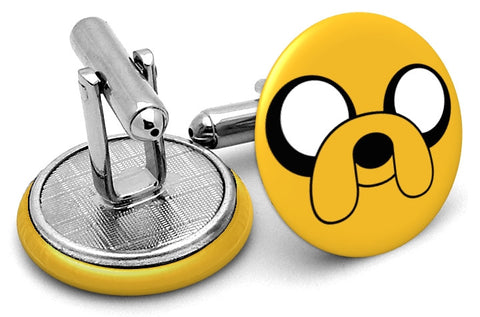 Adventure Time Jake Cufflinks