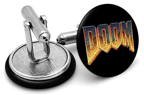 Doom Original Logo Cufflinks