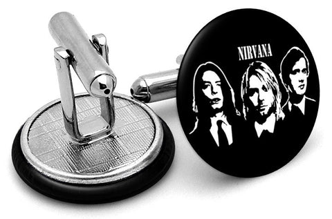 Nirvana Faces Cufflinks