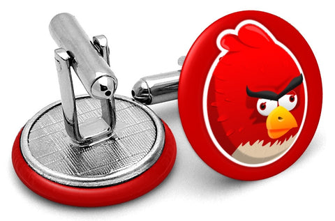 Angry Birds Red Cufflinks