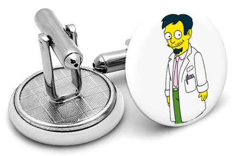 Dr Nick Riviera Simpsons Cufflinks
