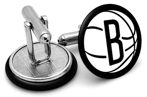 Brooklyn Nets B Cufflinks