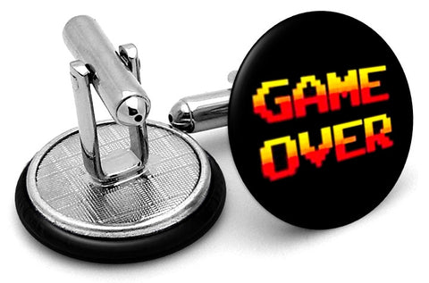 Game Over Vintage Cufflinks