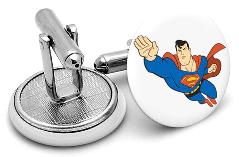 Superman Comic Cufflinks