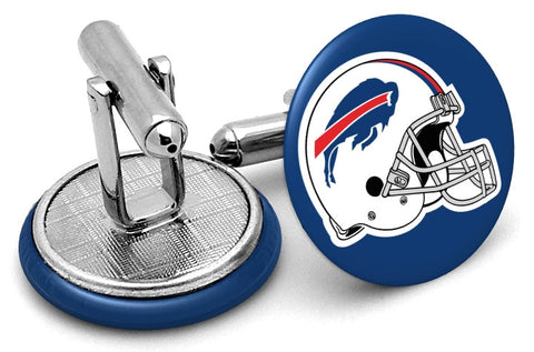 Buffalo Bills Helmet Cufflinks