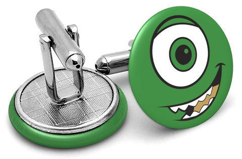 Monsters Inc Mike Wazowski Cufflinks