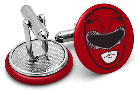 Power Rangers Red Cufflinks