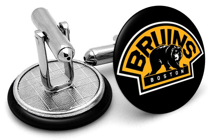Boston Bruins Alternate Cufflinks by FrenchCuffed - Discount and ... 88d27483a