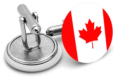 Flag Of Canada Cufflinks