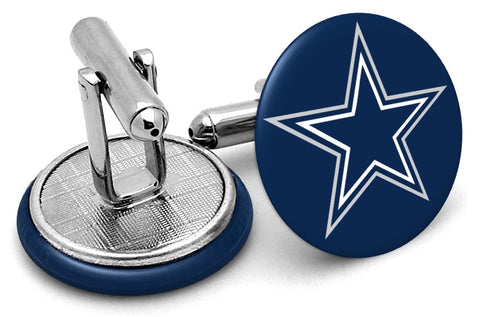 Dallas Cowboys Navy Cufflinks