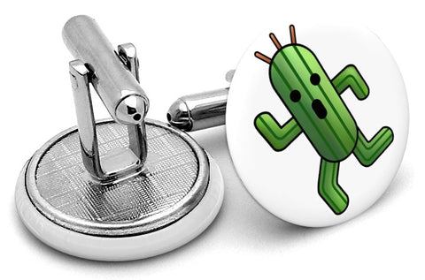 Final Fantasy Cactuar Cufflinks