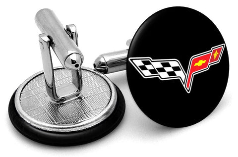 Corvette Flag Cufflinks