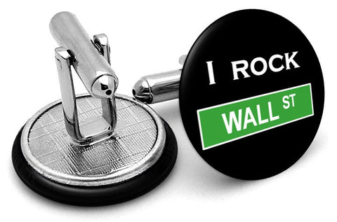 Rock Wall Street Cufflinks