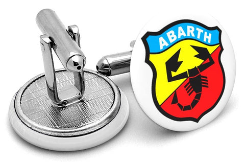 Abarth Logo Cufflinks