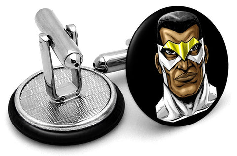 Falcon Portrait Cufflinks
