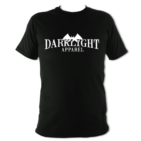 Darklight Logo Tee Black