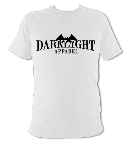 Darklight Logo Tee White