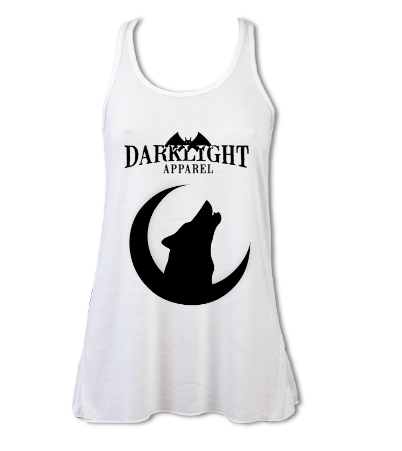 Howling Wolf Vest White
