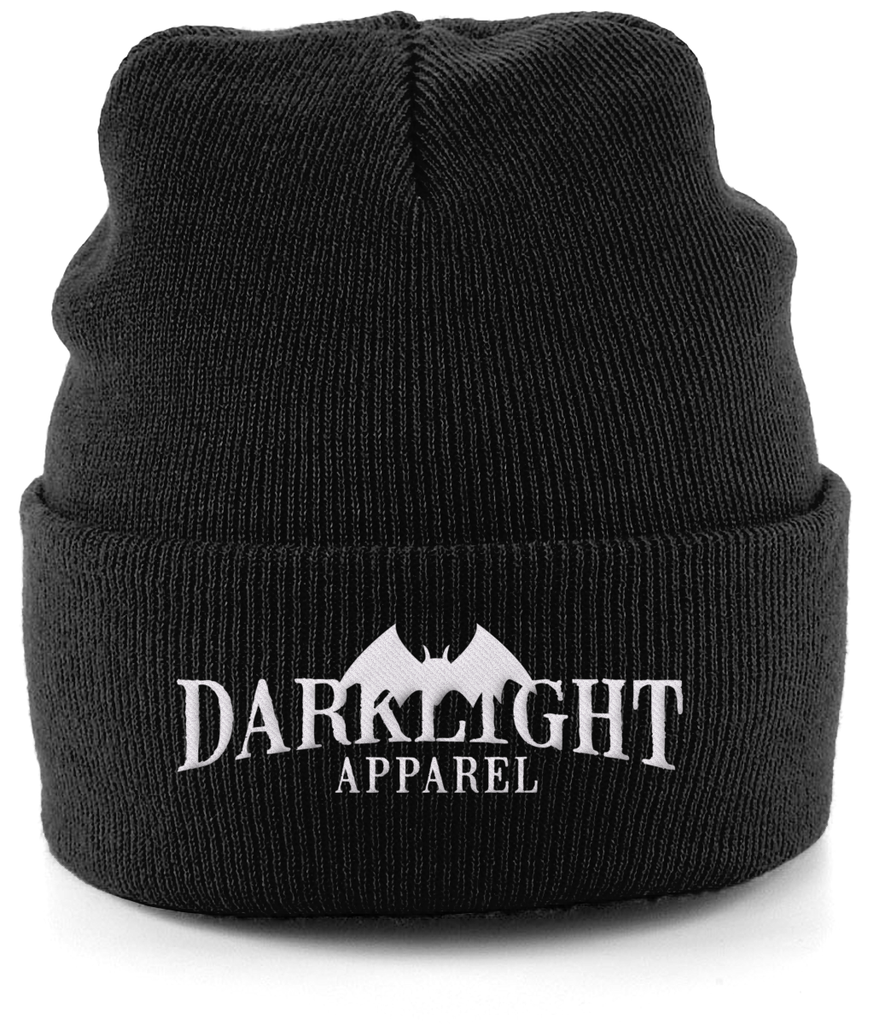 Darklight Logo Beanie Black