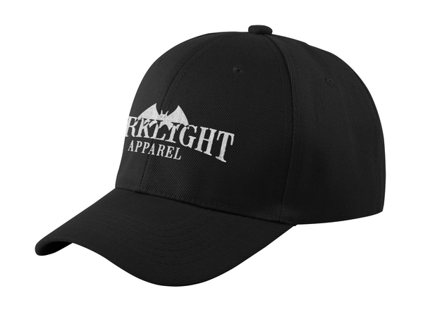 Darklight Logo Baseball Cap Black